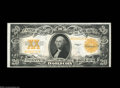 Large Size:Gold Certificates, Fr. 1187 $20 1922 Gold Certificate Choice New. The bottom ...