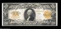 Large Size:Gold Certificates, Fr. 1187 $20 1922 Gold Certificate Choice About New. This ...
