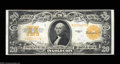 Large Size:Gold Certificates, Fr. 1187 $20 1922 Gold Certificate Choice About New. Tight ...