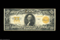 Large Size:Gold Certificates, Fr. 1187 $20 1922 Gold Certificate Star Note Extremely Fine.