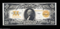 Large Size:Gold Certificates, Fr. 1187 $20 1922 Gold Certificate Extremely Fine.A bit ...