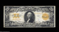 Large Size:Gold Certificates, Fr. 1187 $20 1922 Gold Certificate Fine-Very Fine. Good ...