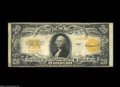 Large Size:Gold Certificates, Fr. 1187 $20 1922 Gold Certificate Star Note Fine. 73 ...
