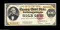 Large Size:Gold Certificates, Fr. 1215 $100 1922 Gold Certificate Choice About New. ...