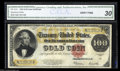 Large Size:Gold Certificates, Fr. 1215 $100 1922 Gold Certificate CGA Very Fine 30. A ...
