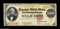 Large Size:Gold Certificates, Fr. 1215 $100 1922 Gold Certificate Fine-Very Fine. ...
