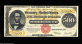 Large Size:Gold Certificates, Fr. 1217 $500 1922 Gold Certificate Extremely Fine. Only ...