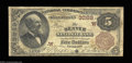 National Bank Notes:Colorado, Denver, CO - $5 1882 Brown Back Fr. 467 The Denver NB ...