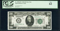 Small Size:Federal Reserve Notes, Fr. 2050-D* $20 1928 Federal Reserve Star Note. PCGS New 61.. ...