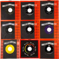 """Music Memorabilia:Recordings, The Beatles """"Please Please Me""""/ """"From Me To You"""" Lot of Nine Rare 45 Singles (Vee-Jay 581, 1964). ... (Total: 9 Items)"""