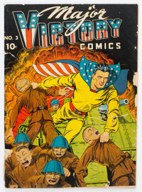 Major Victory Comics #3 (Harry 'A' Chesler, 1945) Condition: FR/GD