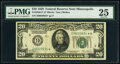 Small Size:Federal Reserve Notes, Fr. 2050-I* $20 1928 Federal Reserve Note. PMG Very Fine 2...