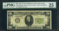 Fr. 2054-B* $20 1934 Light Green Seal Federal Reserve Star Note. PMG Very Fine 25