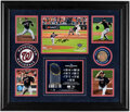 Autographs:Photos, Max Scherzer Signed World Series Display - With Game Used Dirt! ...