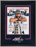 Autographs:Photos, Alexander Ovechkin Signed Oversized Sports Illustrated Cover Photograph. ...