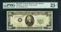 Small Size:Federal Reserve Notes, Fr. 2059-A* $20 1950 Federal Reserve Star Note. PMG Very F...