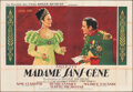 """Movie Posters:Foreign, Madame Sans-Gene (Films Roger Richebe, 1941). Folded, Very Fine-. French Double Grande (63"""" X 91""""). Foreign.. ..."""
