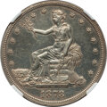 1878 T$1 -- Cleaned -- NGC Details. Proof. Mintage 900. From The Marianna Collection. ...(PCGS# 7058)