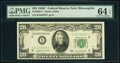 Small Size:Federal Reserve Notes, Fr. 2062-I* $20 1950C Federal Reserve Star Note. PMG Choic...