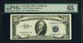 Small Size:Silver Certificates, Fr. 1706 $10 1953 Silver Certificate. PMG Gem Uncirculated 65 EPQ.. ...
