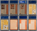 Baseball Cards:Lots, 1962-1964 Topps Baseball PSA-Graded Collection (20) With H...
