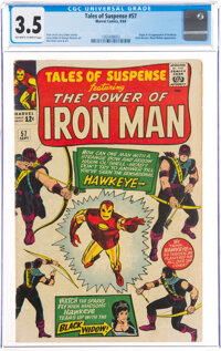 Tales of Suspense #57 (Marvel, 1964) CGC VG- 3.5 Off-white to white pages