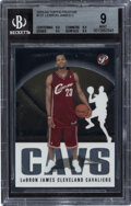 Basketball Cards:Singles (1980-Now), 2003 Topps Pristine Lebron James #101 BGS Mint 9. ...