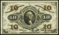 Fr. 1255 10¢ Third Issue New