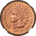 1877 1C MS63 Red and Brown NGC....(PCGS# 2128)