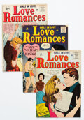 Silver Age (1956-1969):Romance, Love Romances Group of 5 (Marvel, 1958-61) Condition: Average FN/VF.... (Total: 5 Comic Books)