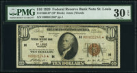 Fr. 1860-H* $10 1929 Federal Reserve Bank Star Note. PMG Very Fine 30 EPQ