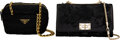 Luxury Accessories:Bags, Prada and Valentino Set of Two: Crossbody Bags ...