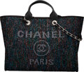"""Luxury Accessories:Bags, Chanel Multicolor Sequin Deauville Tote Bag with Silver Hardware. Condition: 1. 15.5"""" Width x 11.5"""" Height x 8.5"""" Dept..."""