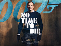"""No Time to Die (United Artists, 2020). Rolled, Very Fine+. British Quad (30"""" X 40"""") DS Advance. James Bond..."""