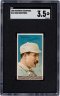 """Baseball Cards:Singles (Pre-1930), 1888 N162 Goodwin """"Champions"""" Dan Brouthers SGC VG+ 3.5...."""