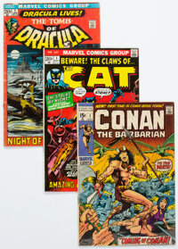 First Issue Bronze and Modern Age Comics Group of 19 (Various Publishers, 1970-84) Condition: Average FN-.... (Total: 19...