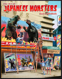 The Art of Japanese Monsters by Sean Linkenback (Signature Book Printing, 2014). Near Mint. Signed Paperback Book (208 P...