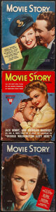 """Movie Posters:Miscellaneous, Movie Story Magazine & Other Lot (Fawcett Publications, 1943/1945-1946). Fine+. Magazines (6) (Multiple Pages, 8.5"""" X 11"""" & ... (Total: 6 Items)"""