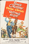 """Movie Posters:Musical, Riding High & Other Lot (Paramount, 1950). Folded, Fine+. One Sheets (2) (27"""" X 41""""). Musical.. ... (Total: 2 Items)"""