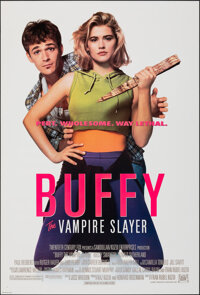 """Buffy the Vampire Slayer & Other Lot (20th Century Fox, 1992). Rolled, Very Fine. One Sheets (2) (27"""" X 40""""..."""