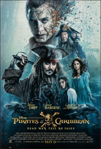 """Pirates of the Caribbean: Dead Men Tell No Tales (Walt Disney Pictures, 2017). Rolled, Very Fine+. One Sheet (27"""" X..."""