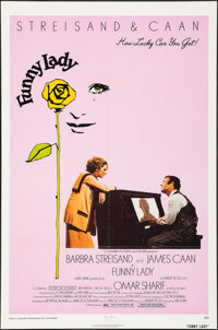 """Funny Lady & Other Lot (Columbia, 1975). Folded, Fine+. One Sheets (2) (27"""" X 41""""). Musical. ... (Total: 2..."""
