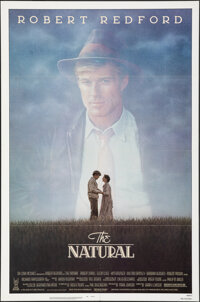 """The Natural (Tri-Star, 1984). Folded, Very Fine+. One Sheet (27"""" X 41""""). Sports"""