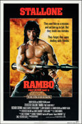 """Movie Posters:Action, Rambo: First Blood Part II (Tri-Star, 1985). Folded, Very Fine. One Sheet (27"""" X 41""""). Action.. ..."""
