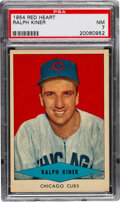 Baseball Cards:Singles (1950-1959), 1954 Red Heart Ralph Kiner PSA NM 7. Offered is a ...