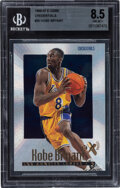 Basketball Cards:Singles (1980-Now), 1996 E-X2000 Kobe Bryant (Credentials) #30 BGS NM-MT+ 8.5 - #'d 465/499....