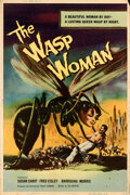 """Movie Posters:Science Fiction, The Wasp Woman (Film Group, Inc., 1959). Rolled, Fine. Poster (40"""" X 60"""").. ..."""