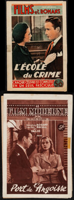 Le Film Moderne: To Have and Have Not & Others Lot (Editions Mondiales, 1948). Fine+. French Magazines (5) (Multiple...