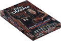 Basketball Cards:Unopened Packs/Display Boxes, 2002-03 Topps Chrome Basketball Factory Sealed Box....
