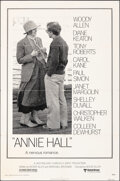 """Movie Posters:Comedy, Annie Hall (United Artists, 1977). Folded, Fine+. One Sheet (27"""" X 41""""). Comedy.. ..."""